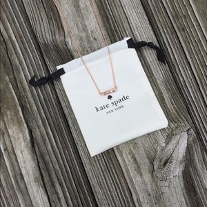 Kate Spade Yours Truly Car Mini Pendant Necklace